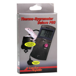 Thermo-& Hygrometer Deluxe PRO - Lucky Reptile